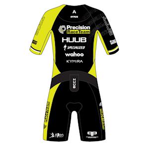 Race Team custom Huub Anemoi tri suit back