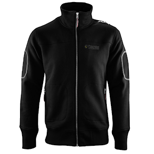 casual track jacket front
